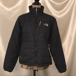 North Face Zip Coat Jacket Size Small black